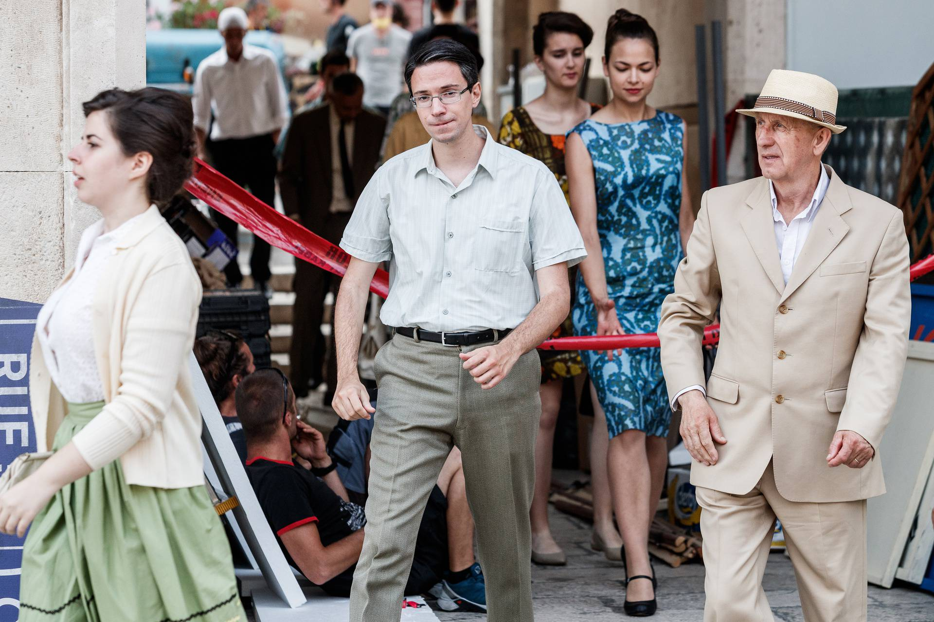 Snimaju se kadrovi britanske serije, Split okupirali oldtajmeri