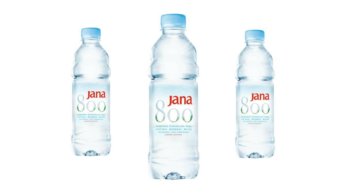 Limitirana edicija JANA 800, podsjetnik je na svakodnevnu adekvatnu hidrataciju
