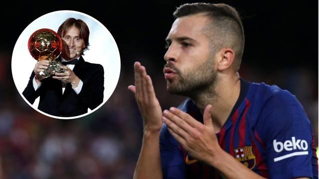 Jordi Alba: Zlatna lopta je laž, svi znaju da je Messi najbolji...