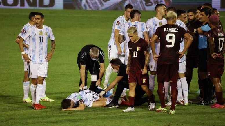 Strašan start na Messiju, igrač koji ga je faulirao se rasplakao