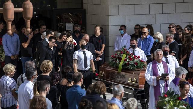 Split: Pogreb poznate kosarkasice Žane Lelas na Lovrincu
