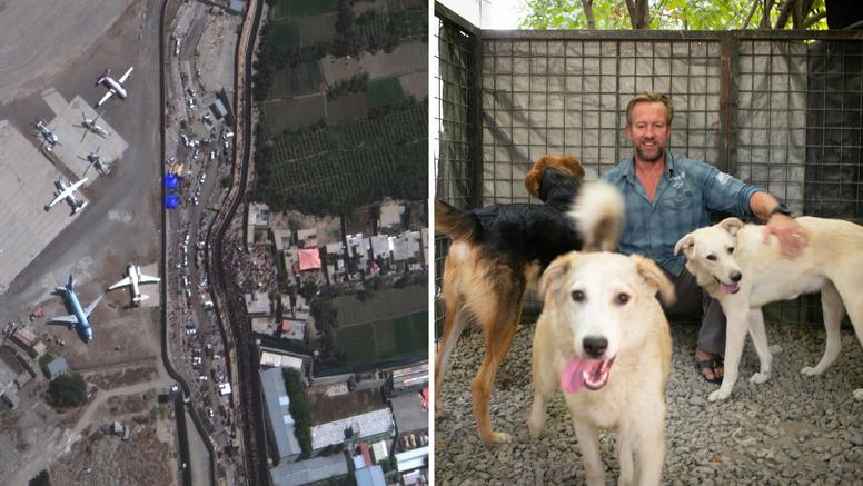 U avion ukrcali 200 mačaka i pasa. Nije htio napustiti Kabul bez životinja o kojima je brinuo