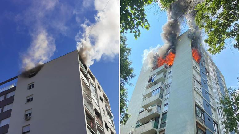 Vatrogasci objavili upute kako se ponašati ako gori u zgradi