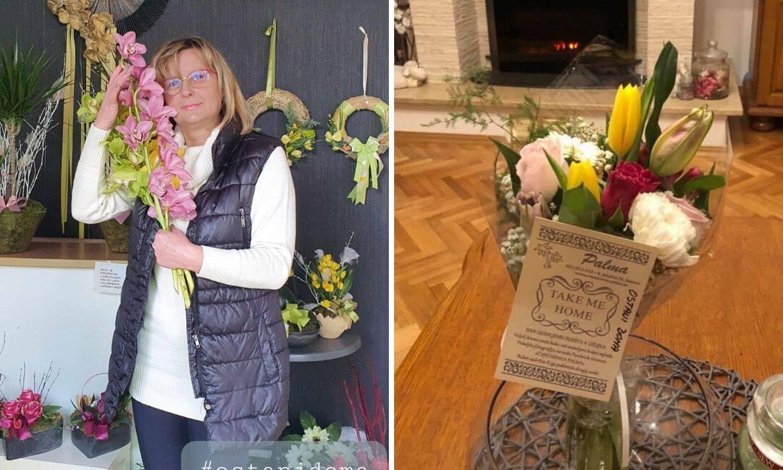 Ljudskost na djelu: Teta Ružica svoje kupce daruje buketima...