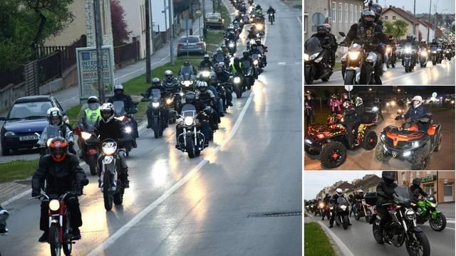 Moto budnica: 700 motorista 'grmjelo' Bjelovarom za 1. maj