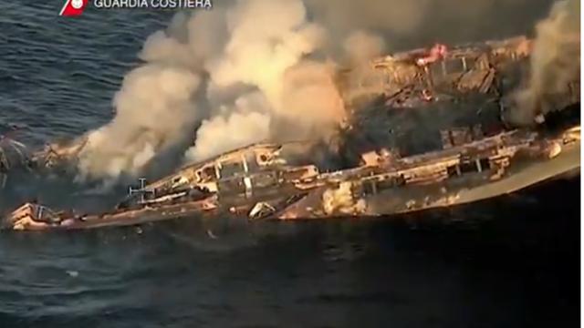 Jahta se zapalila kod Sardinije, hrvatski kapetan napravio je ključnu stvar i spasio živote