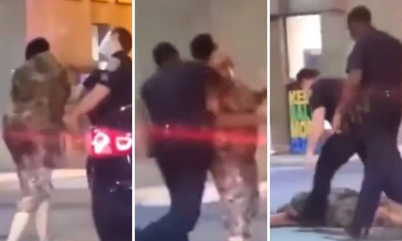Snimka: Policajac u Baltimoreu nokautirao ženu, više ne radi