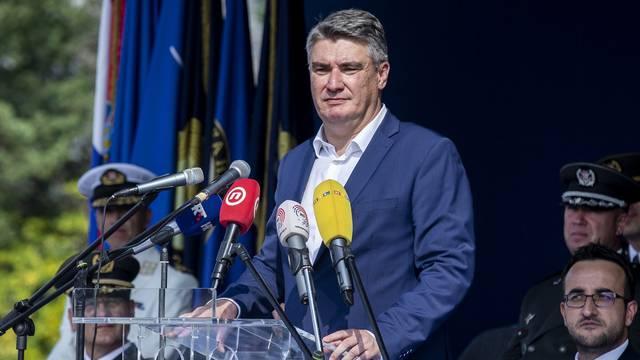 Split: Predsjednik Milanović sudjelovao na 30. obljetnici ustrojavanja HRM