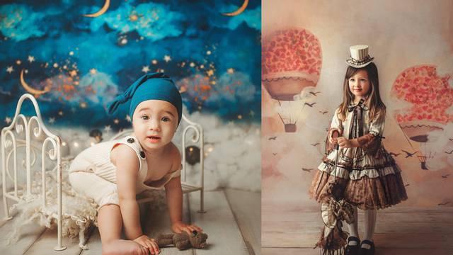Fotke iz bajki: Martina pretvara bebe i djecu u čarobne likove