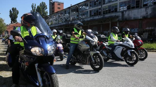 Stotine motociklista 'Bukom motora protiv tišine ALS-a!'