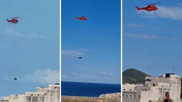 VIDEO Helikopter spustio dvije jurilice u Dubrovnik: Rimac će večeras objaviti 'velike vijesti'