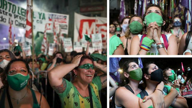Argentinski Senat izglasao legalizaciju pobačaja: 'Sestre, uspjele smo. Stvaramo povijest'