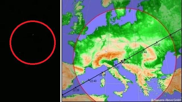 Jeste li ju vidjeli? Međunarodna svemirska postaja preletjela je točno iznad centra Zagreba