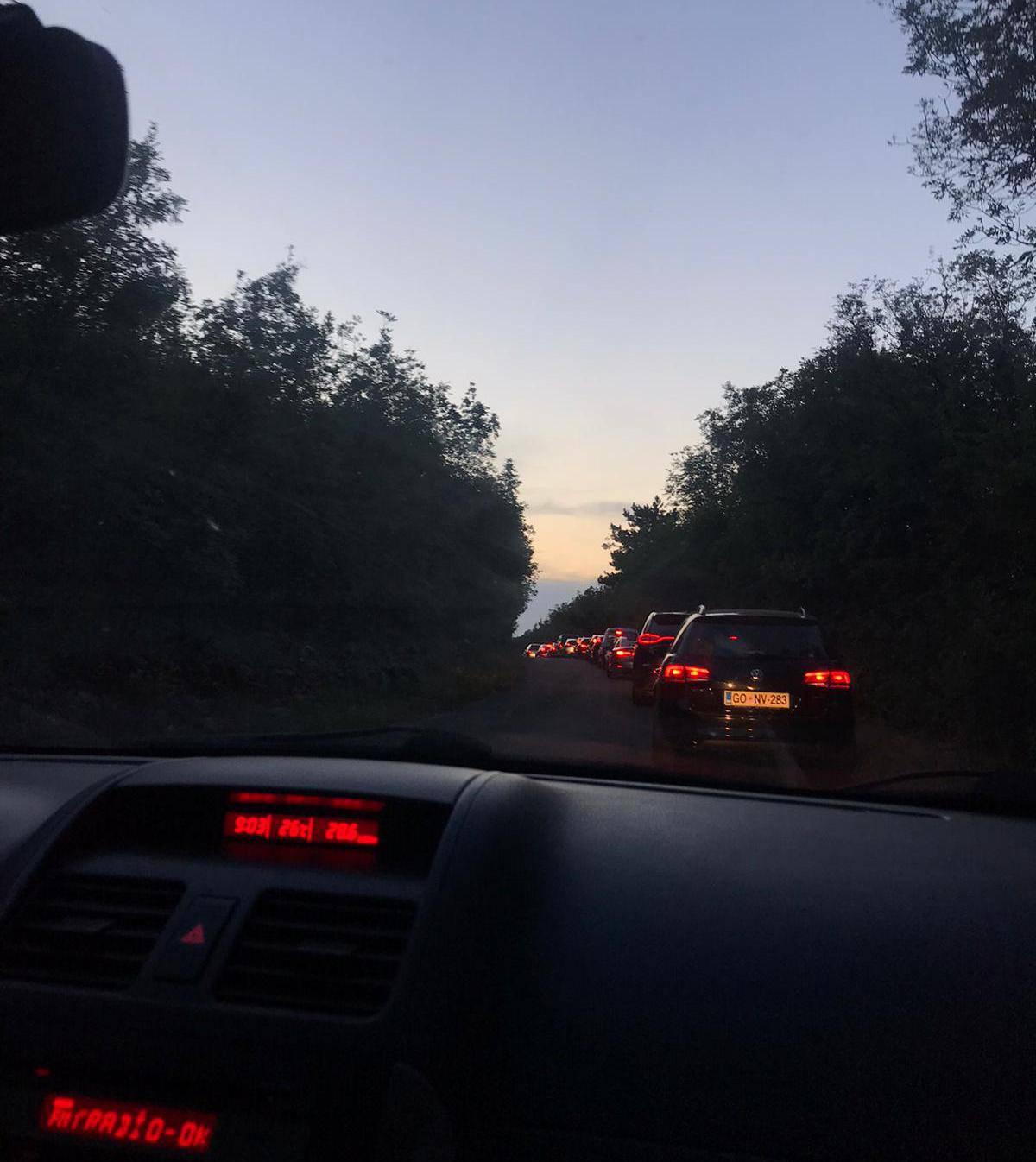 Na Krku kolona od čak 20 km: 'Katastrofa, vozim već tri sata!'