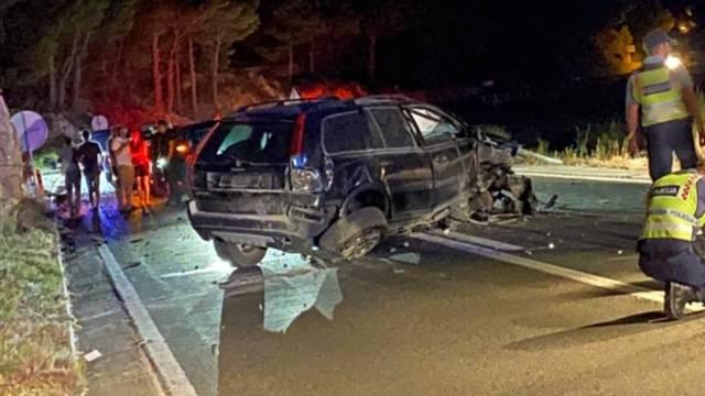 Užas kod Omiša: Usred noći se dvaput autom zabio u brdo!