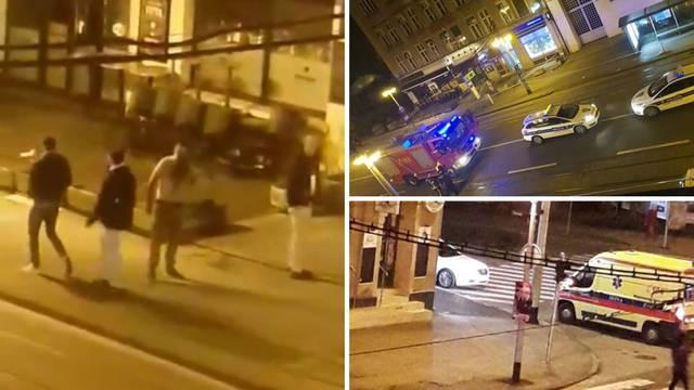 Ekskluzivni video: Muškarac je krvav, drugi ga  ganja po cesti