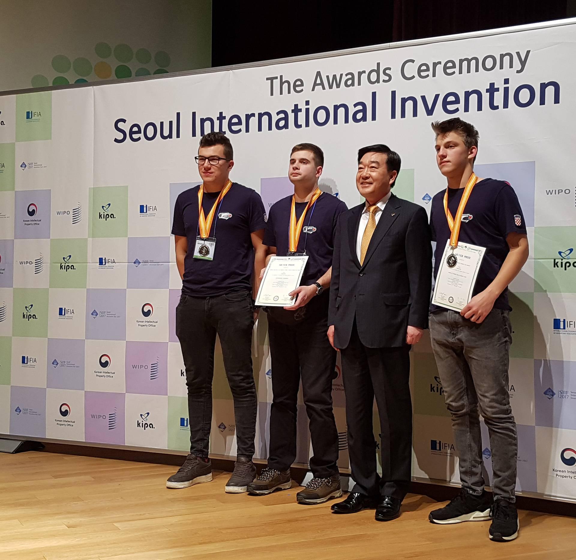 U Seoulu sedam medalja za hrvatske inovacije