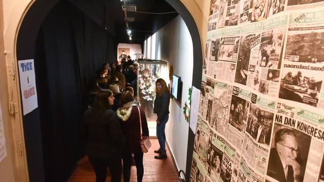 Zagreb:  Noć muzeja u Muzeju  za umjetnost i obrt