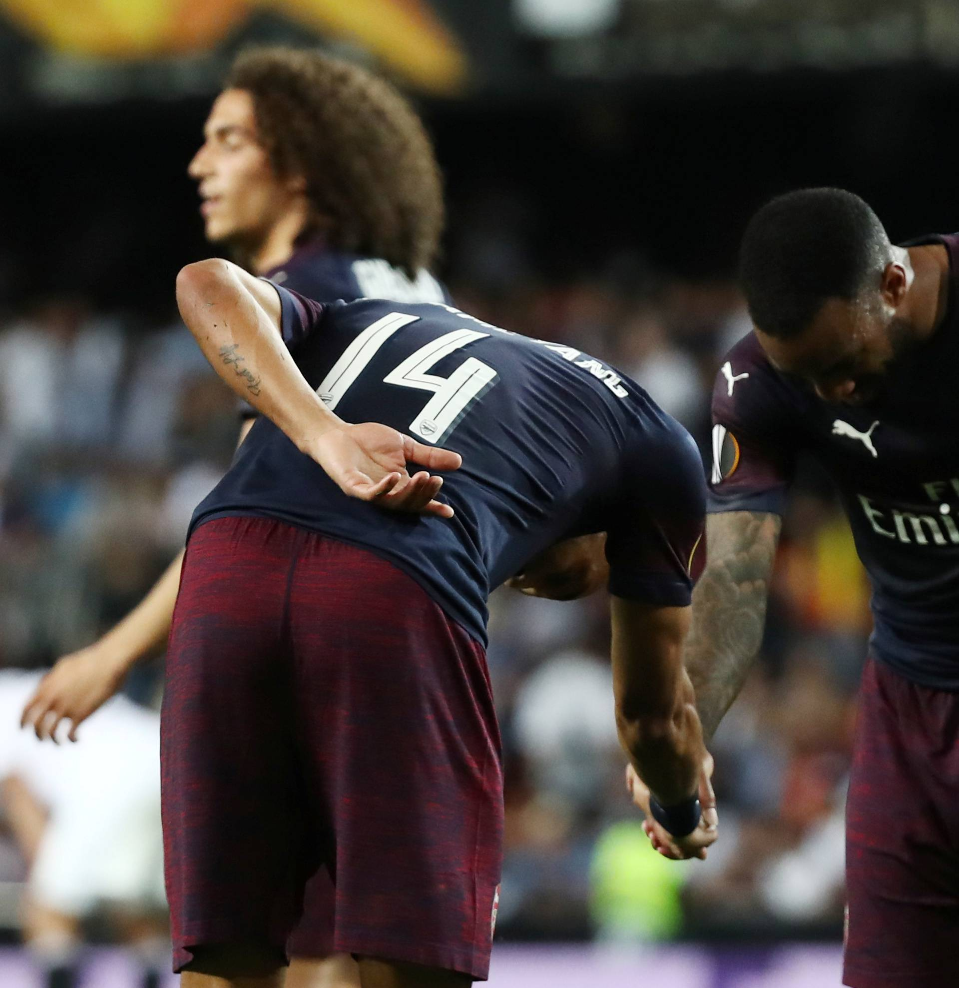 Europa League Semi Final Second Leg - Valencia v Arsenal