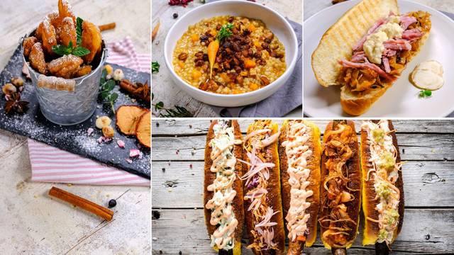 Buncek, ajngemahtec, crni hot dog: Omastite brk na Adventu!