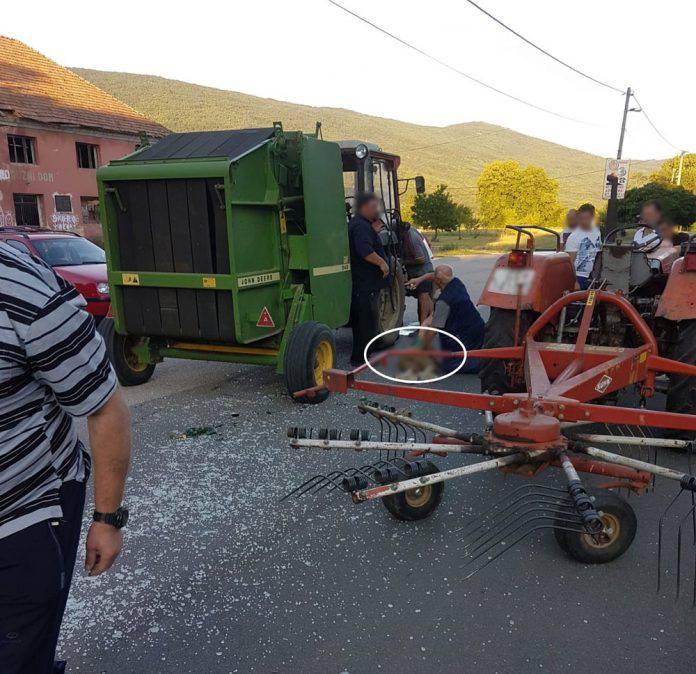 Mladić (19) pijan upravljao traktorom pa pregazio dijete