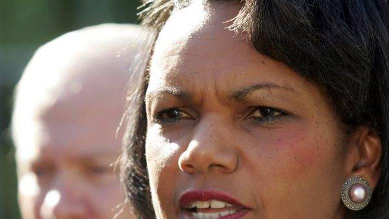 Condoleezza Rice pred novinarima ismijala BiH