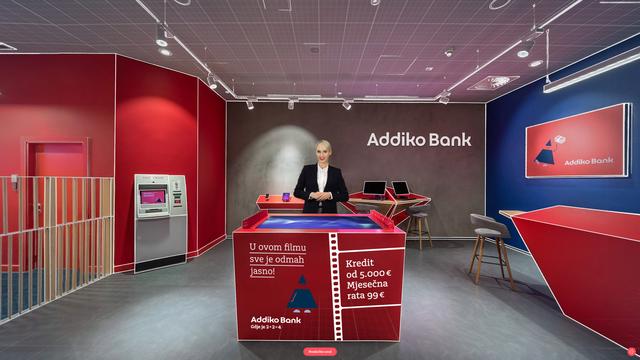 Addiko Bank: nagrada za inovaciju bankarske usluge