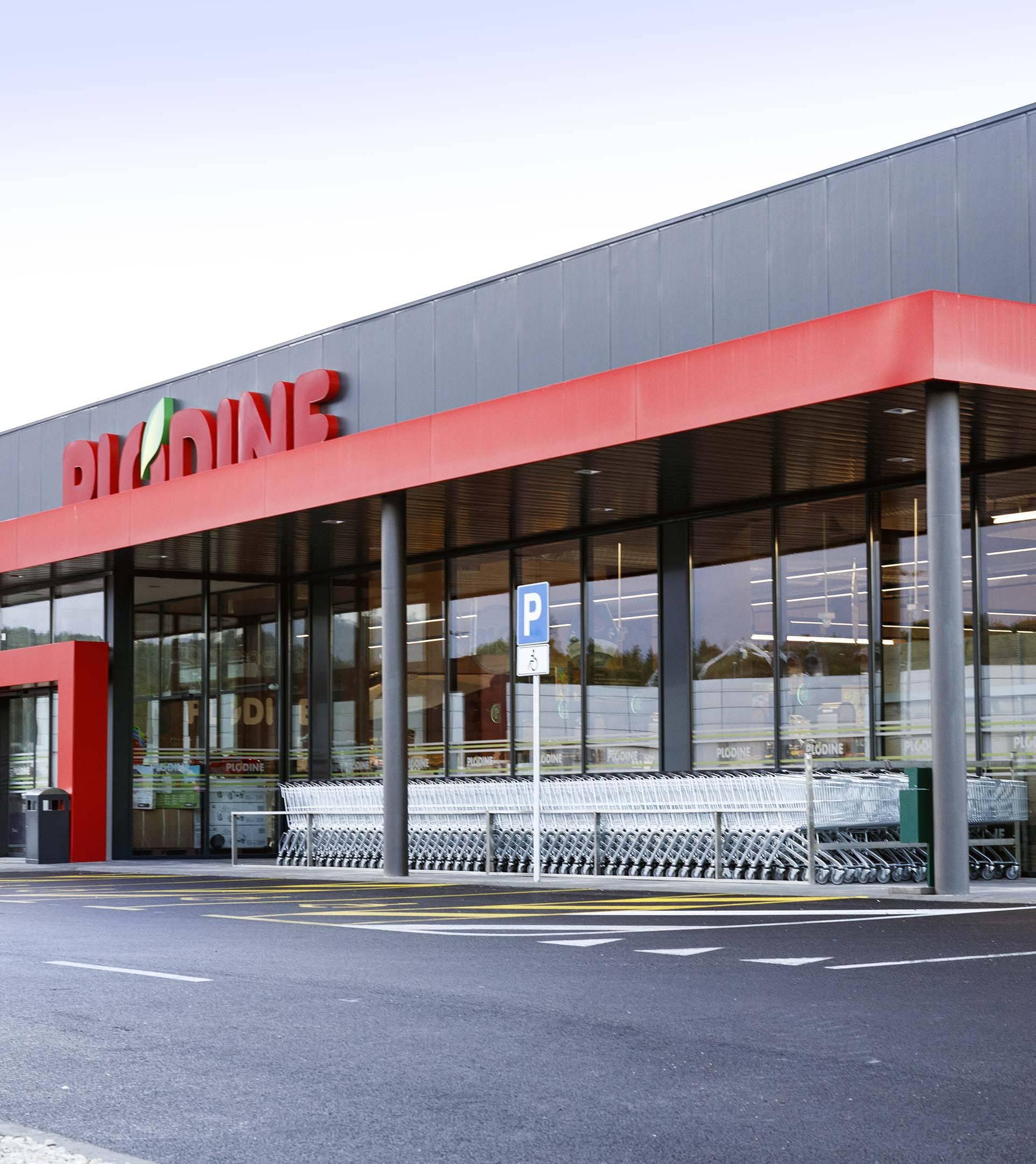 U Labinu otvoren moderan supermarket Plodina