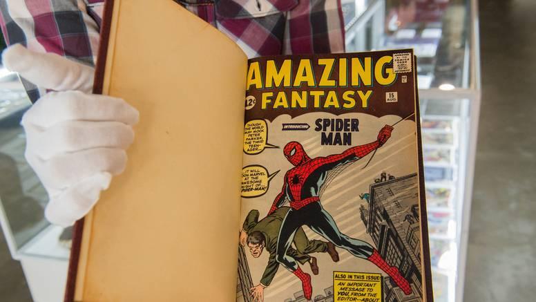 Spider-Man srušio rekord: Dao 22,7 milijuna kuna za prvi strip u kojem se pojavio Peter Parker