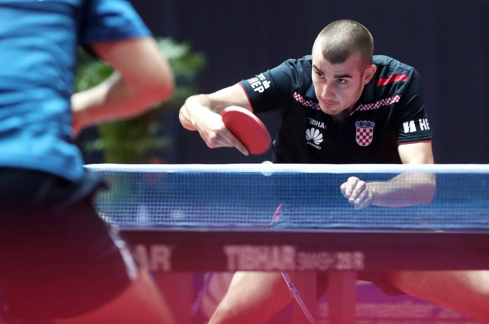 Zagreb: Hrvatski stolnotenisač Tomislav Pucar osvojio je brončanu medalju na Zagreb Openu