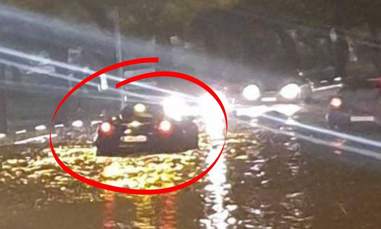 Džabe ti brmm, brmmm: Ferrari je zapeo u bujici u Dalmaciji...