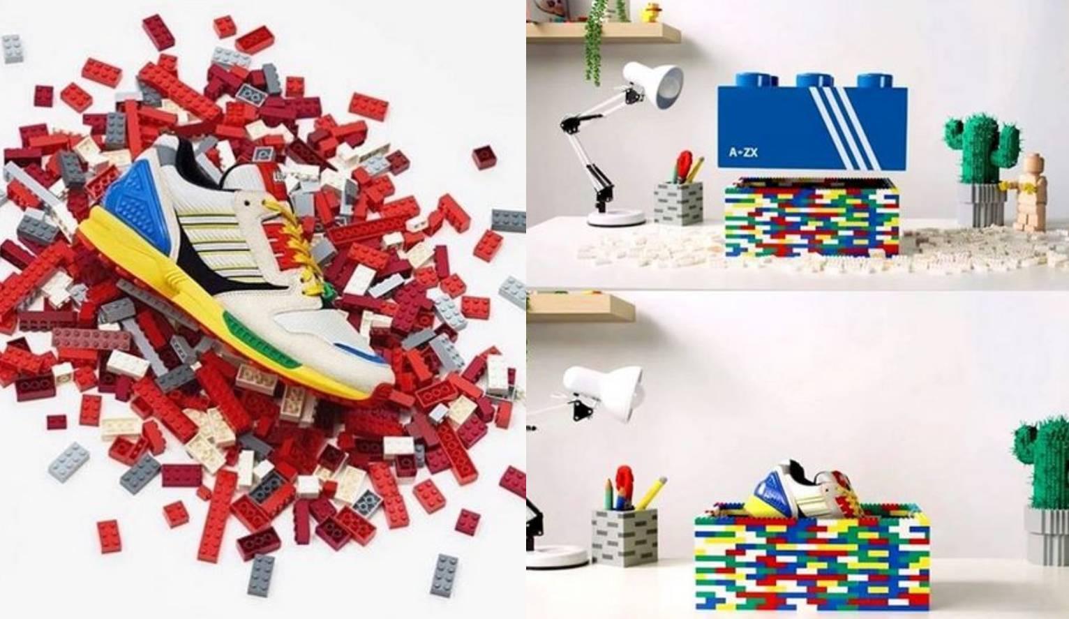 Adidas i Lego surađuju: Nove tenisice u tonu šarenih kockica
