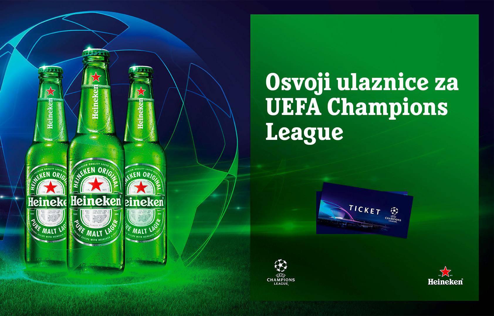Heineken® te vodi na utakmicu Dinamo - Šahtar na Maksimiru