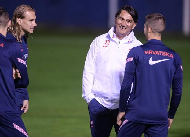 Zagreb: Hrvatska nogometna reprezentacija odradila je trening