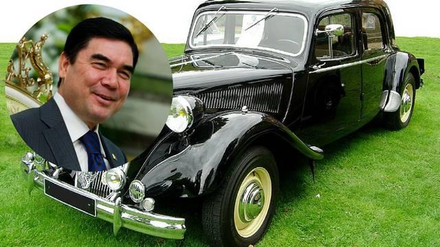 Predsjednik Turkmenistana je zabranio crne aute, voli bijele...