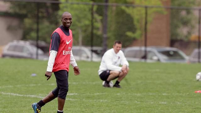 Paris Saint-Germain training session in New York City