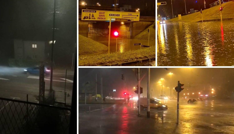 Škorpikova poplavila, dio grada nema struje, vatrogasci izašli na 10-ak intervencija zbog oluje...