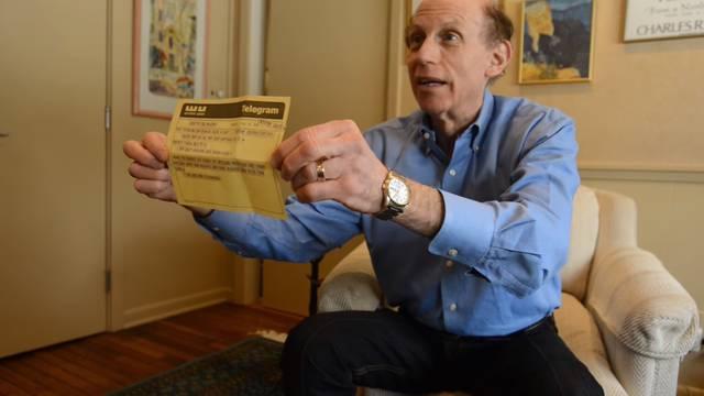 Profesoru iz Michigana uručili telegram nakon čak  50 godina