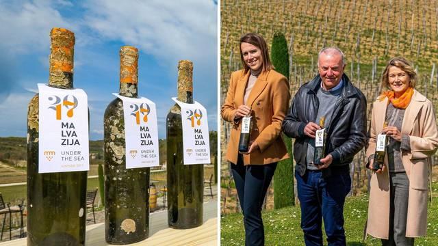 Naše vino godinu dana leži pod morem u Istri, a ideju su nam dali prijatelji pomorci i kapetani
