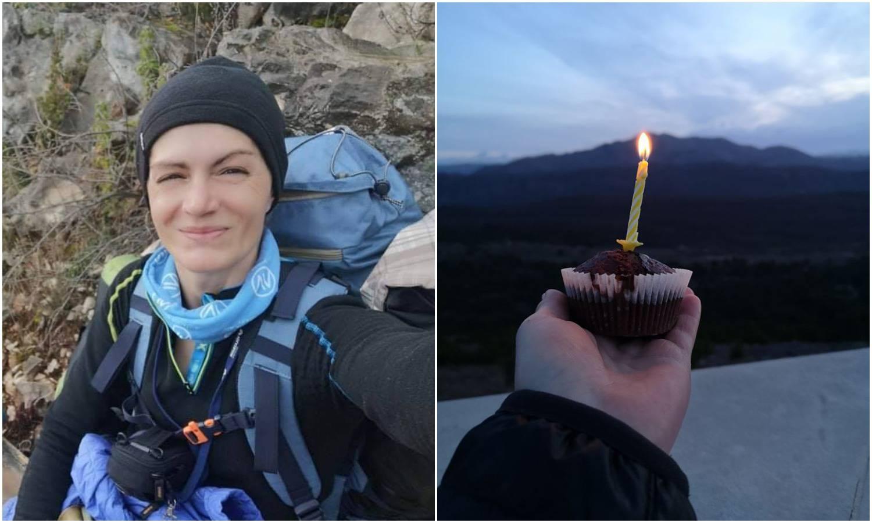 Hrabra Tatjana svoj rođendan dočekala na 600 g. staroj stazi