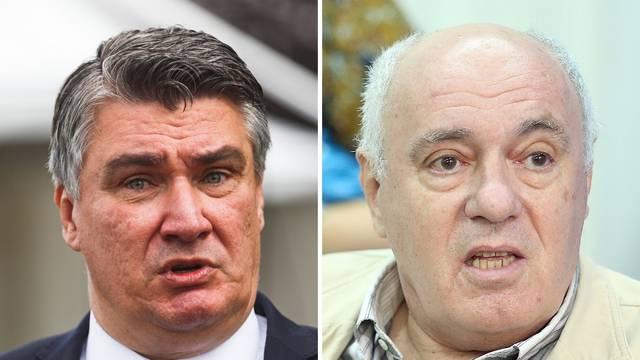 Milanović je napao Puhovskog: Umirovljeni mudroslov, propali političar i druker sa suda iz '72.