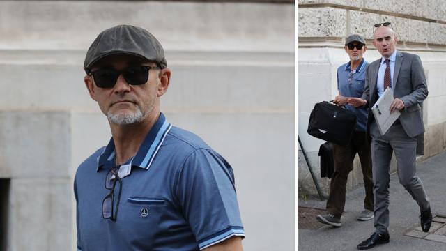 FOTO Sudac Krušlin išetao iz zgrade Županijskog suda
