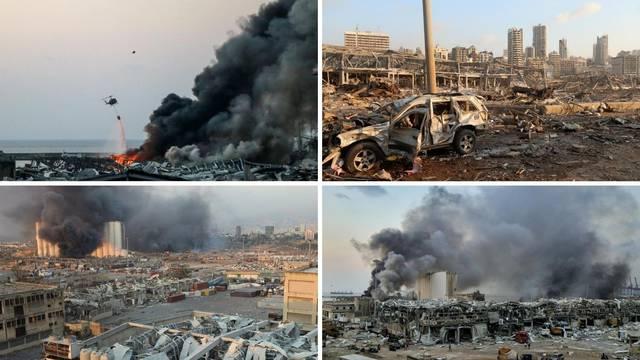 Strašni prizori nakon eksplozije: 73 mrtvih, 3000 ljudi ranjeno