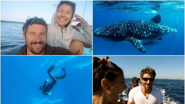 Bućan i Sara plivali s kitovima u Indijskom oceanu: 'Prestali smo disati zbog njih, veličanstveno!'
