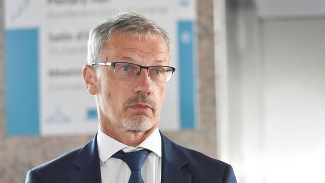 Zagreb: Marić i Vujčić dali izjave za medije