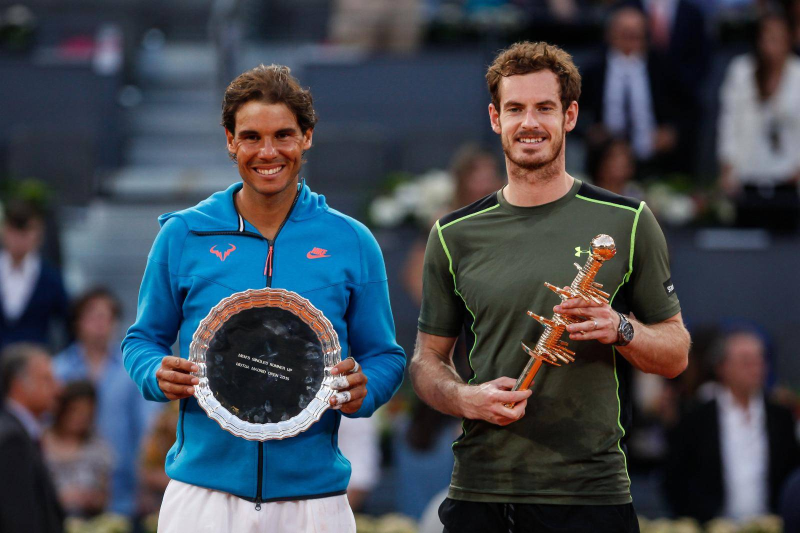 Rafa Nadal V Andy Murray