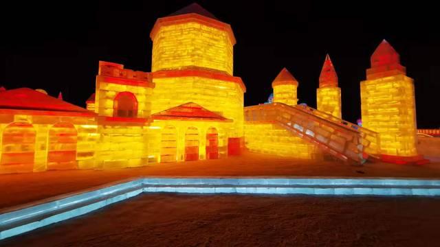 Na kineskom Festivalu snijega i leda izložena je i Dioklecijanova palača - velika je atrakcija