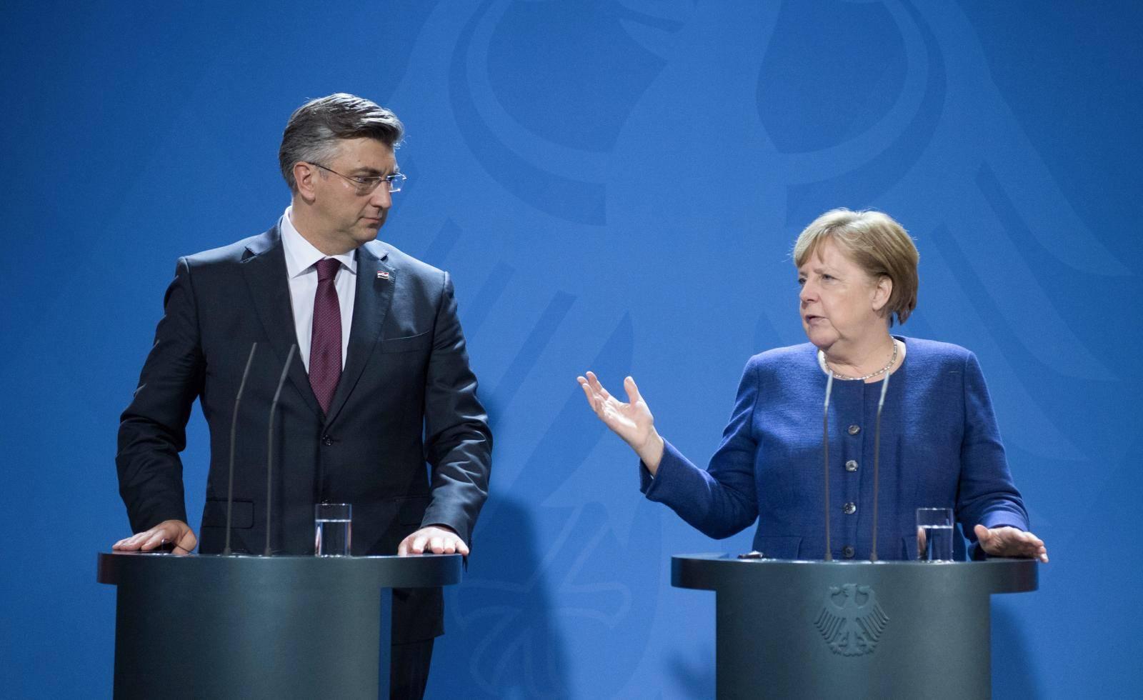 Croatian Prime Minister Plenkovic in Berlin