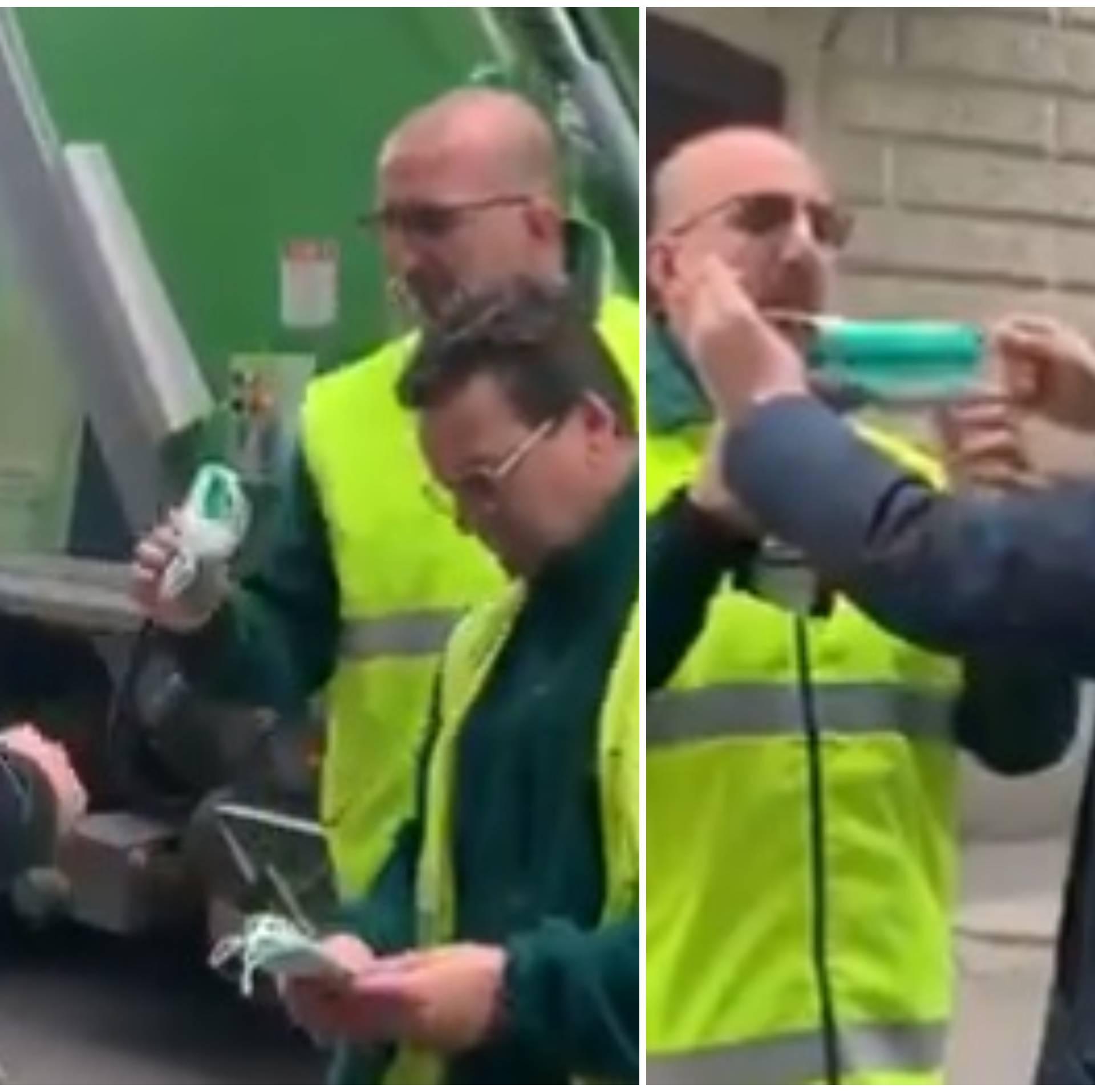 Talijanski komunalci u strahu za život: Maske im dali Kinezi!