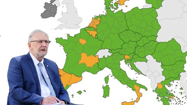 Sve  je opet kako treba biti: Na ECDC karti i Hrvatska u zelenom